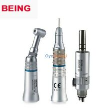 BEING Low Speed Dental Handpiece Kit E-Type Connector Push Button 1:1 Ratio CE