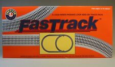 LIONEL FASTRACK TRACK PACK INNER PASSING LOOP O GAUGE switch train 6-12028 NEW