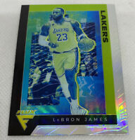 2019-20 Chronicles Flux #591 LeBRON JAMES Silver Prizm SSP #591 Lakers Rare