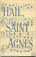 Albany New York-Hail Saint Agnes-Ninety Years of School History-Memoirs-News