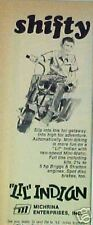 """1969 Mini Bike Kids """"Lil"""" Indian Motorcycle~Motorized Scooter Paper Print Ad"""