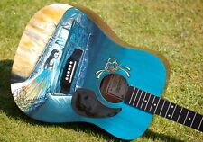 Hand Painted 'Evanescence' Encore Acoustic Guitar