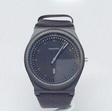 Diesel Men's Leather Watch Black Dial Watch DZ1560