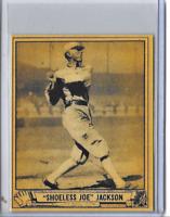 Shoeless Joe Jackson 1940 Play Ball Reprint Card