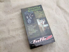 Rare Saluting Brutality BMX Bike Racing VHS - Coplin Daye Pinzon Profile Racing.