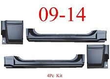09 14 Regular Cab 4Pc Extended Rocker & Cab Corner Kit, Ford F150 Truck Combo!!