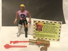 Cadillacs & Dinosaurs Mustapha Cairo Vtg 1993 Cartoon Action Figure Complete