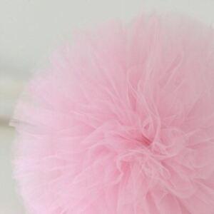 Light pink tulle pom pom