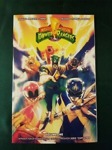 MIGHTY MORPHIN POWER RANGERS VOL #1 TPB Collects #0-4 Boom Studios TP
