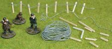 Barbed wire miniature wargames model railway 40K 28mm 15mm