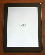 Excellent Apple iPad 3rd Gen 16GB, WiFi, Cellular, Black, No Scratches, EarPods!