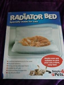 Cat Radiator Bed Warm Faux Fur Kitten Cradle  Hammock Pet  new COSY Simply4Pets