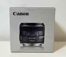 Canon EF 24mm f/2.8 IS USM Image Stabilizer Ultrasonic Black Lens