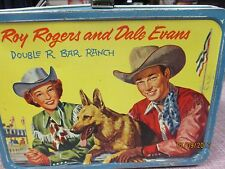 Roy Rogers Dale Evans Double R Bar Ranch Metal Lunchbox