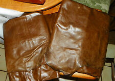 Dark Brown Leather Full Hide of Leather / Upholstery Leather  50-55 square feet