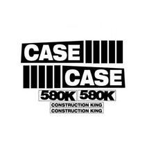 C580k Hood Decal Set Fits Case Construction King 580k Backhoe Industrial