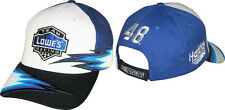 Jimmie Johnson 2015 Checkered Flag #48 Lowe's Speedblur Hat FREE SHIP!