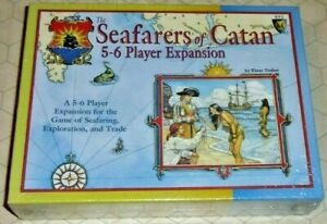The Seafarers of Catan Expansion 3rd Edition NIB OOP - Mayfair Games 1999 Print