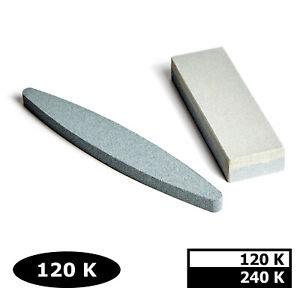 WORK-IT Schleifstein 150/230mm K120-240 Schärfstein Abziehstein Wetzstein