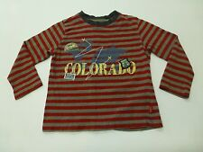 Pumpkin Patch Boys Size 3 Striped Colorado T Shirt Great Condition