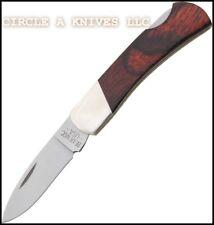 "BEAR & SON KNIFE - EXECUTIVE LOCKBACK #224R- 3 "" CLOSED LENGTH - MADE IN THE USA"