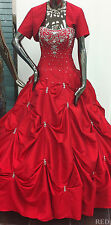 GORGEOUS DEBUTANTE CORSET MILITARY BALL GOWN CUTE SWEET 16 PROM MARDI GRAS DRESS