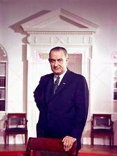 Photographie portrait politique de Lyndon Johnson président Poster print LV11071