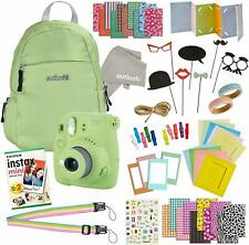 Instax Mini 9 Camera Travel Bundle - 60 Piece Accessory Kit with Shoulder Bag, 2