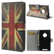 Flip Case Business Case Nokia Lumia 830 UNION JACK England Flagge