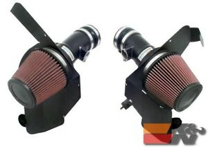 K&N Air Intake System TYPHOON For BMW M5 5.0L, 06-07 (FLAT BLACK) 69-2003TFK