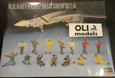 1/48 US Navy Pilot / Carrier Deck Crew Figures Set A - Hasegawa X48-6 / 36006