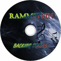 RAMMSTEIN GUITAR BACKING TRACKS CD BEST OF GREATEST HITS MUSIC PLAY ALONG MP3