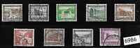#6986   Complete 9 stamp set 1936 Winter relief fund Germany ScB93-B101