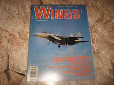 VINTAGE MAGAZINE WINGS BY SENTRY FEB 1988 F15 MONO DIVE BOMBER SB2U WWII