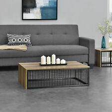 [en.casa]® Couchtisch 100x60x30cm Wohnzimmertisch Beistelltisch Holz-Optik MDF