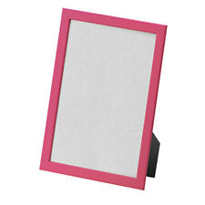 "IKEA Picture Frame FISKBO 8.5x11"" Pink Wood Photo Frames NEW Free Shipping"