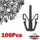 100pcs Grille Clips Retainer For Fits Isuzu NQR NRR FVR Rodeo Pickup Mitsubishi