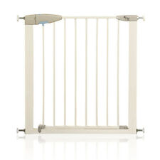 LINDAM SURE SHUT PORTE BABY SAFETY STAIR GATE (75-82 CM) WHITE - WAREHOUSE CLEAR