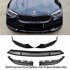 BMW 3 SERIES G30 G31 M PERFORMANCE FRONT SPLITTER LIP SPOILER DIFFUSER 5PC 2017+