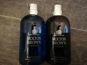 Molton Brown BRAND NEW x2 Bottles Bath & Shower Gel 300ml