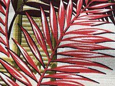 Sale! Hawaiian Lattice Shoji Barkcloth Vintage Fabric Drape Curtain 40's Island