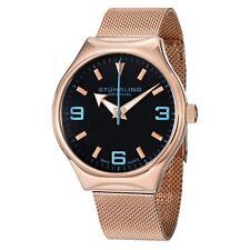 Stuhrling Eagle Elite Men's 42mm krysterna Quartz Watch 184.334451