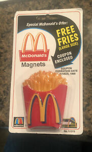 McDonalds Magnet 51103 French Fries New In Package McDonalds Fridge Vintage Rare