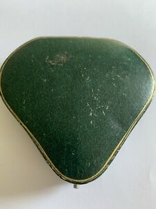 Lovely Antique Hinged Shaped Box For Antique Bracelet & Padlock