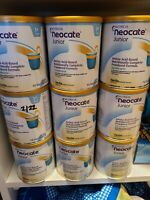 Neocate Junior Vanilla Powdered Formula  9 x 14.1oz Cans expire 2021 or later