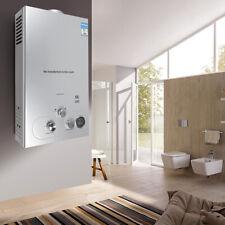 10L 36KW Erdgas Gas Durchlauferhitzer Warmwasserbereiter Boiler Wasser+Shower DE