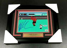 IRON MIKE TYSON AUTHENTIC SIGNED AUTOGRAPHED 8X10 PHOTO FRAMED PUNCH-OUT COA
