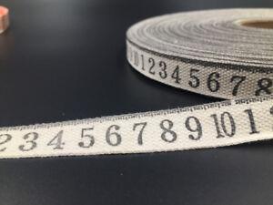 5-10 Yards digital Cotton Ribbon Design Home Party Decor DIY Sewing Craft 15mm