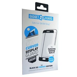 Gadget Guard Galaxy Note 8 Curved Tempered Glass Cornice Screen Protector
