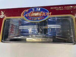 Road Legends Shelby Cobra 427S/C 1964 1:18 Die Cast